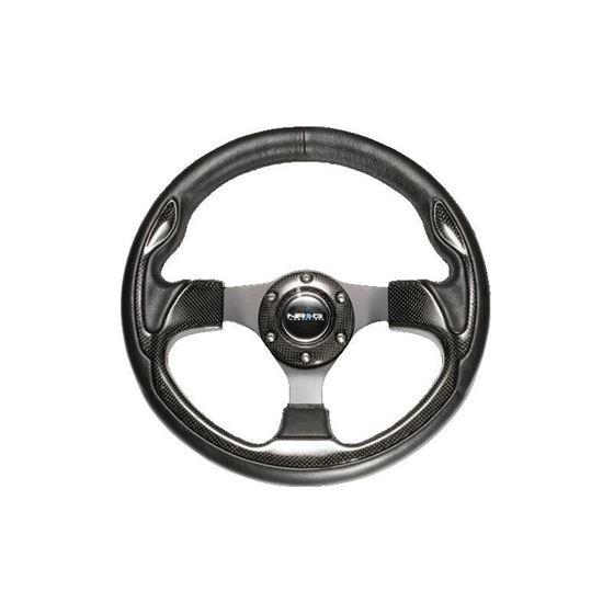 Steering Wheel w/ Blue Trim ST-001BL