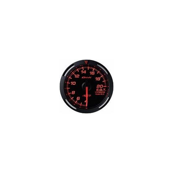 Red Racer Series 52mm Gauges, US Measurements defi