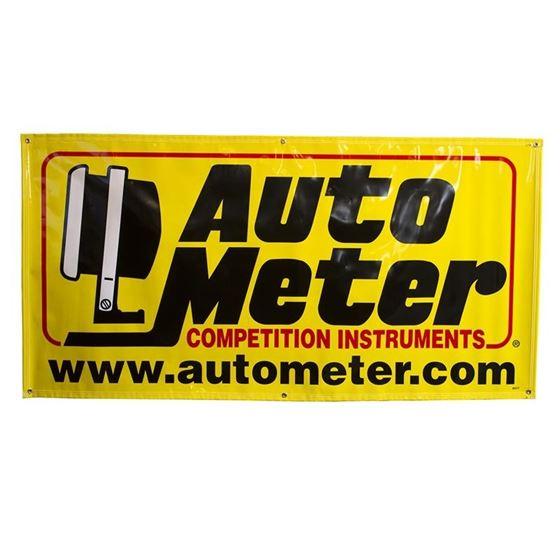 Auto Meter 6ft x 3ft Race Banner by JM Auto Racing