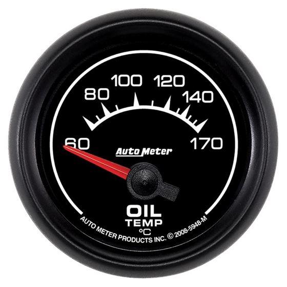 Auto Meter Gauge, Oil Temp, 2 1/16 in, 60-170C, El