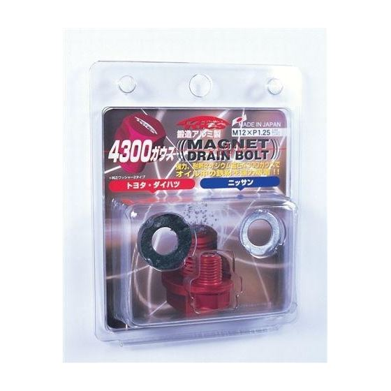 Project Kics Toyota/Daihatsu/Nissan Red Magnetic D