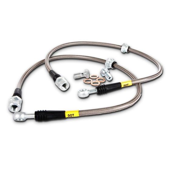 03-08 Infiniti FX35/FX45/FX50 Stainless Steel Fron